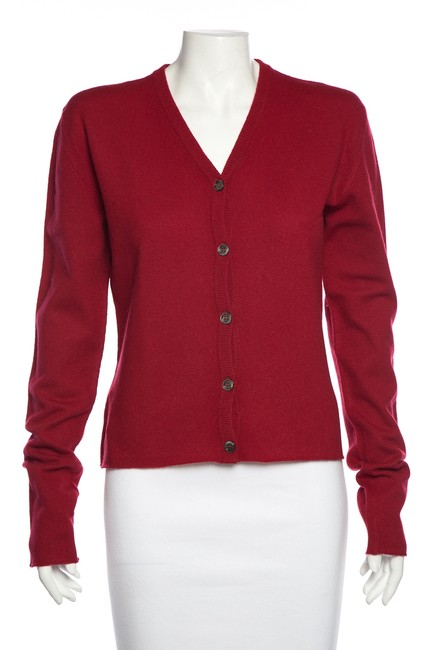 Item - Cashmere Embellished Red Sweater