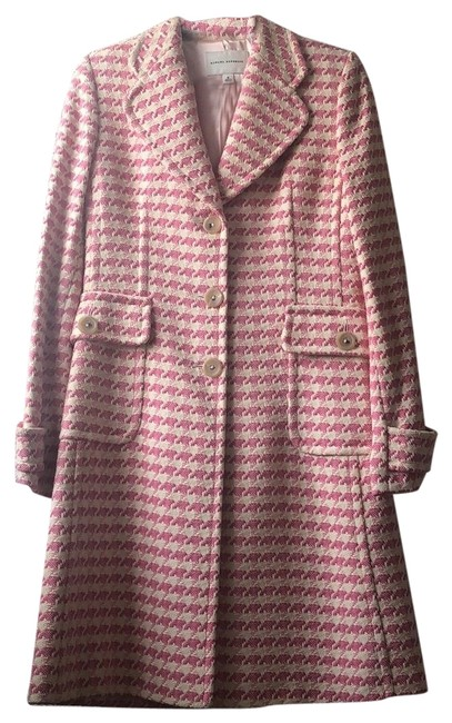 Item - Pink & Cream Coat Size 8 (M)