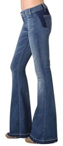 Elizabeth and James Flare Leg Jeans-Acid