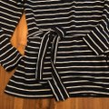 J.Crew Navy and White Striped Belted Tunic Size 10 (M) J.Crew Navy and White Striped Belted Tunic Size 10 (M) Image 2