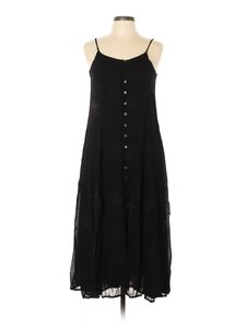Black Maxi Dress by Together Chiffon Sleeveless Floral Layered Vintage
