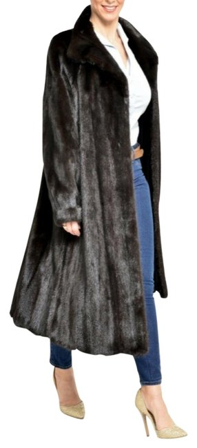 """Item - Black """"Mother's Day Special"""" Females Mink Germany Coat Size 10 (M)"""
