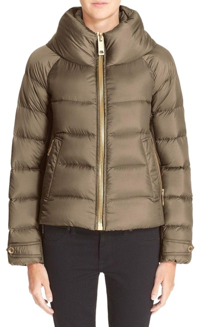 Item - Clay Green Townfield Short Goose Down Jacket Size 8 (M)