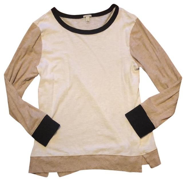 Item - Black White and Beige Modern Classic Tunic Size 8 (M)