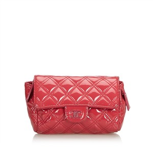 Chanel 9cchpo001 Vintage Wristlet in Pink