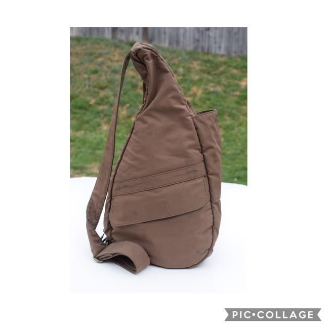 Item - Healthy Taupe Nylon Backpack