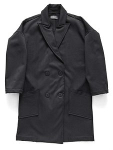 Lanston Fall Winter Edgy Sporty Classic Trench Coat