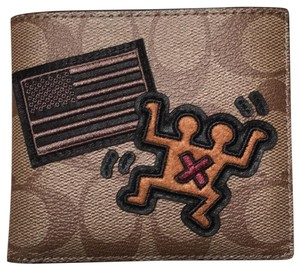 Coach Keith Haring Double Billfold