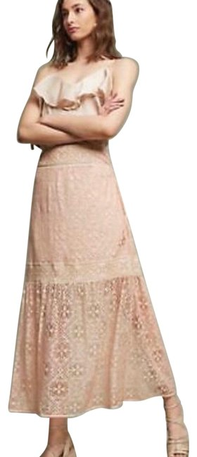 Anthropologie Peach •nwot•anthropologie Queens& Pawn Maxima Lace Skirt Size 10 (M, 31) Anthropologie Peach •nwot•anthropologie Queens& Pawn Maxima Lace Skirt Size 10 (M, 31) Image 1