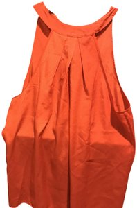 Babjades Banana Republic Style Colir New With Tags Tie Neck Coral Halter Top
