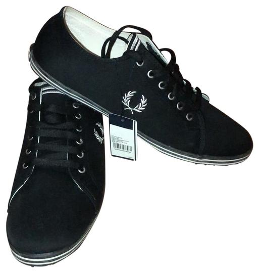 Fred Perry Black Kingston Twill