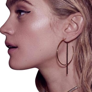 Anthropologie Abstract hoops