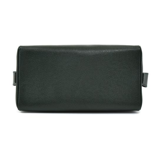 Louis Vuitton Louis Vuitton Green Taiga Leather Toiletry Cosmetic Case Pouch Image 4