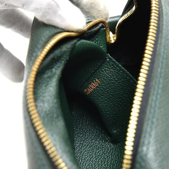 Louis Vuitton Louis Vuitton Green Taiga Leather Toiletry Cosmetic Case Pouch Image 6