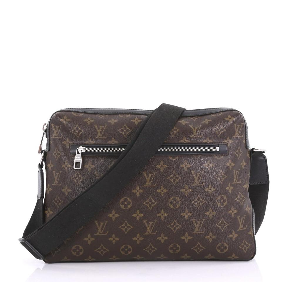 find lowest price best place for biggest selection Louis Vuitton Messenger Torres Monogram Macassar Brown Coated Canvas Cross  Body Bag 18% off retail