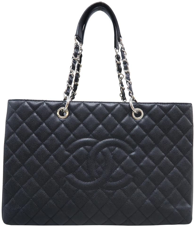 95031c1d433ee3 Chanel Shopping Tote Grand Xl (Gst) Black Caviar Shoulder Bag - Tradesy