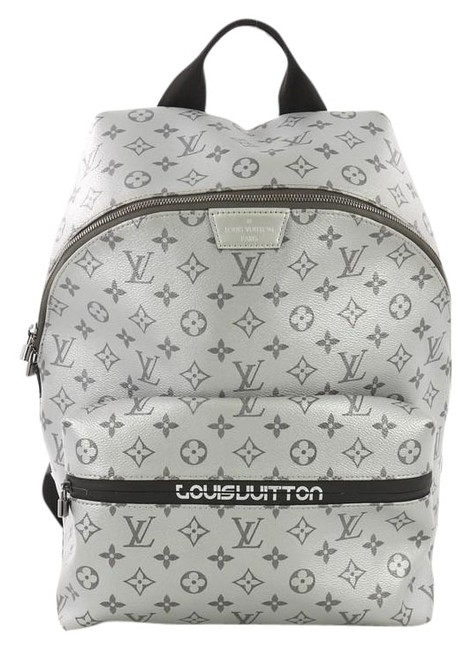 Item - Apollo Limited Edition Reflect Monogram Silver Canvas Backpack