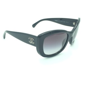 375cf4f122f Chanel Chanel Black Cat Eyed Butterfly Sunglasses 5239 501 3C