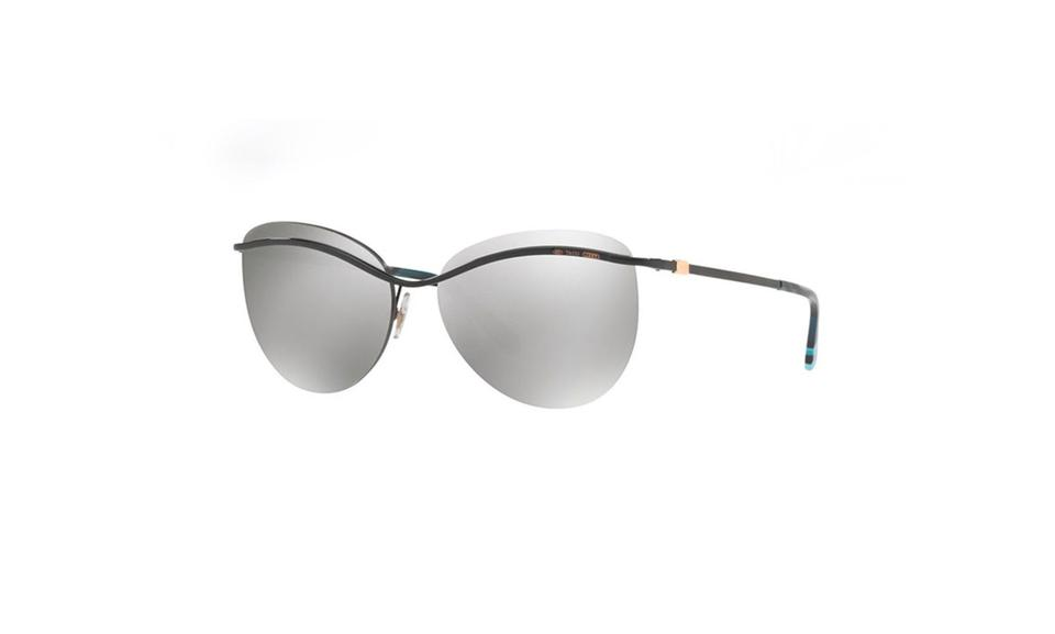 a7b27f5b6a Tiffany   Co. Black Silver Tf3057 6001 6v Sunglasses - Tradesy