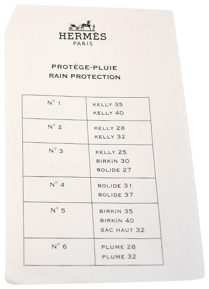 0424209be4e027 Hermès Clear Kelly Large Bag Rain Protector - Fits 35/40 - Tradesy