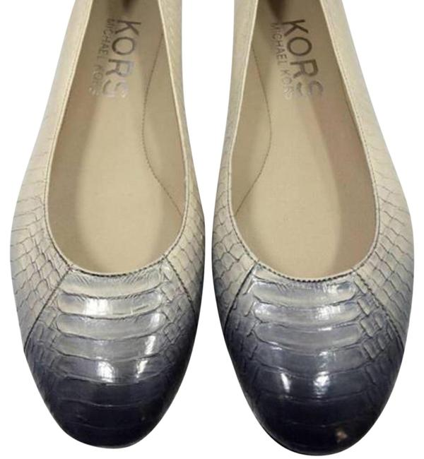 Michael Kors Collection Olympia Ombré Snakeskin Flats Size US 6.5 Regular (M, B) Michael Kors Collection Olympia Ombré Snakeskin Flats Size US 6.5 Regular (M, B) Image 1