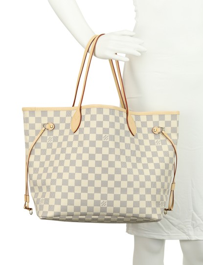 Louis Vuitton Neverfull Mm Damier Tote in Multicolor Image 10