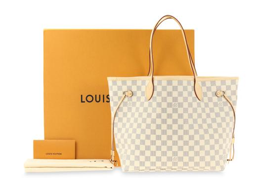 Louis Vuitton Neverfull Mm Damier Tote in Multicolor Image 11