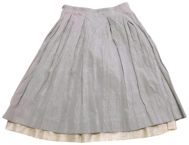 Item - Light Gray Soft Pleated Skirt Size 4 (S, 27)