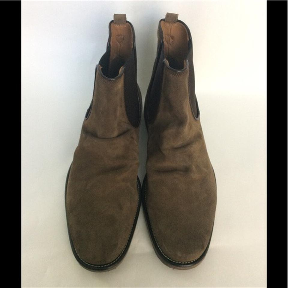 382e0833bcb John Varvatos Brown Men's Suede Chelsea Boots/Booties Size US 8 Regular (M,  B) 45% off retail