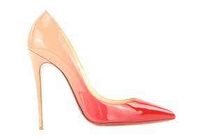 Christian Louboutin So Kate Pigalle Follies Degrade Ombre Beige Pumps