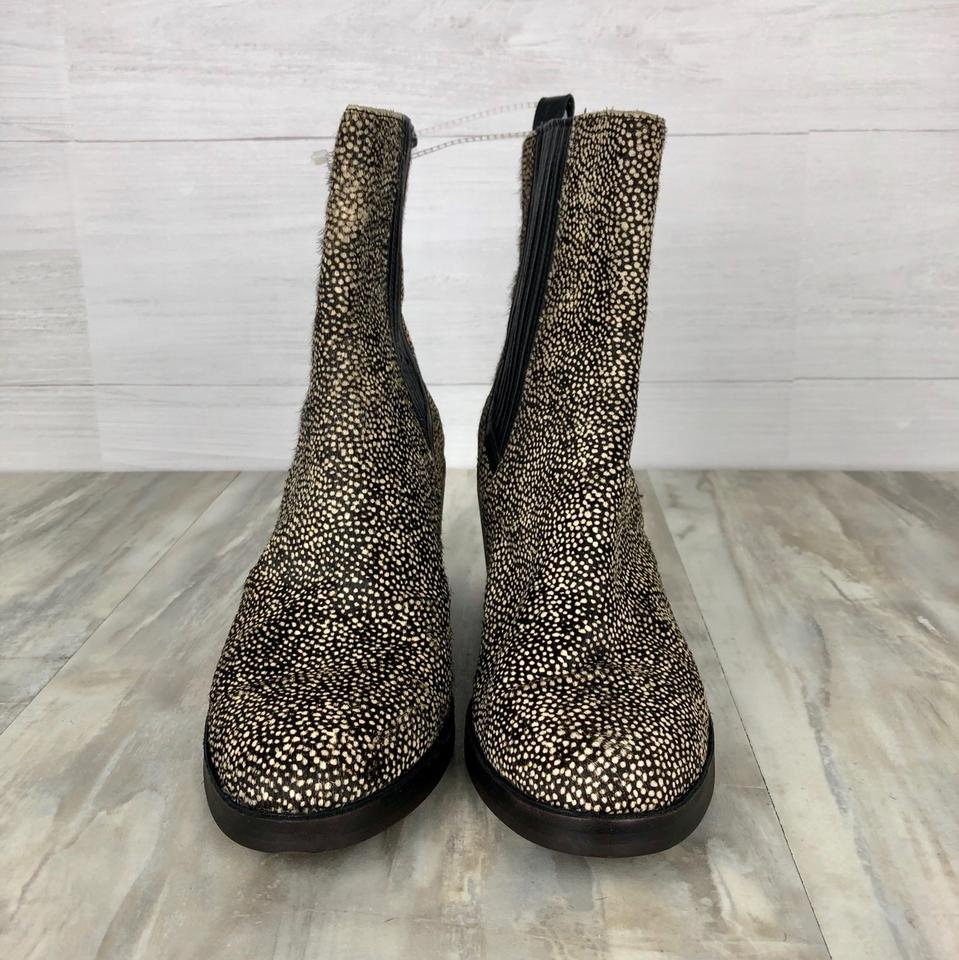 5e68128f605 UGG Australia Black and Tan Dotted Camden Exotic Cow Hair Boots/Booties  Size US 11 Regular (M, B) 46% off retail