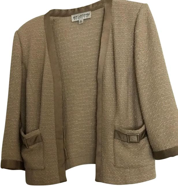 Item - Beige Tweed Collection Skirt Suit Size 8 (M)