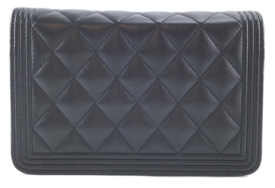 fdfa2f7f31e67e Chanel Clutch Wallet on Chain #28657 Timeless Cc Woc Quilted Single ...