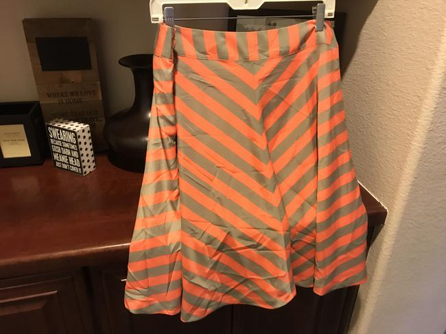 Outback Red Flared New With Tags Striped Lined Skirt Chacki green and orange shirt Image 3