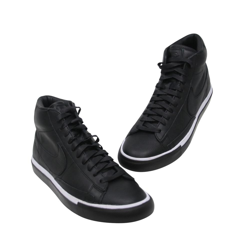 best authentic 4ac9f e8b6a COMME des GARÇONS x Nike Black White High Top Lace Up Men's Sneakers Size  US 8.5 Regular (M, B)