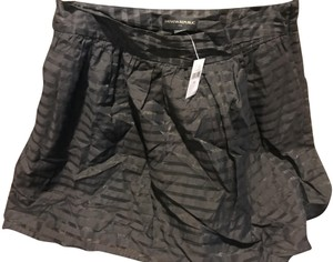 Banana Republic The Limited Flared New With Tags Mini Mini Skirt Navy blue