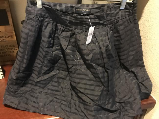 Banana Republic The Limited Flared New With Tags Mini Mini Skirt Navy blue Image 3
