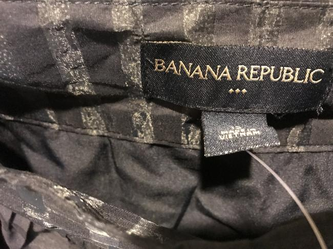 Banana Republic The Limited Flared New With Tags Mini Mini Skirt Navy blue Image 7