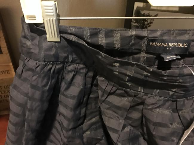 Banana Republic The Limited Flared New With Tags Mini Mini Skirt Navy blue Image 8