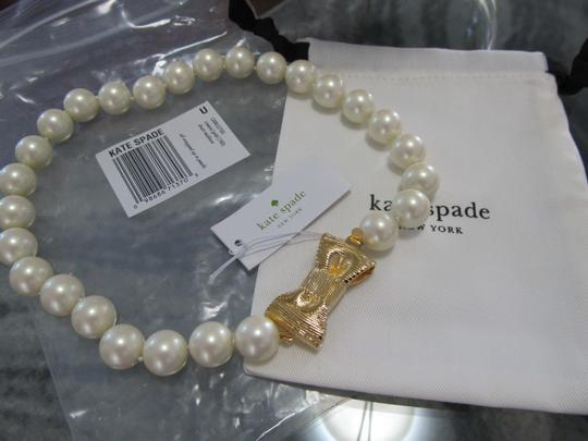 Kate Spade Kate Spade all wrapped up in pearls short necklace Image 2