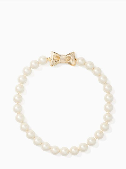 Kate Spade Kate Spade all wrapped up in pearls short necklace Image 4