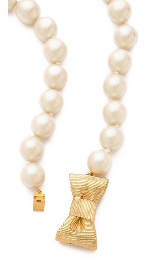 Kate Spade Kate Spade all wrapped up in pearls short necklace Image 6