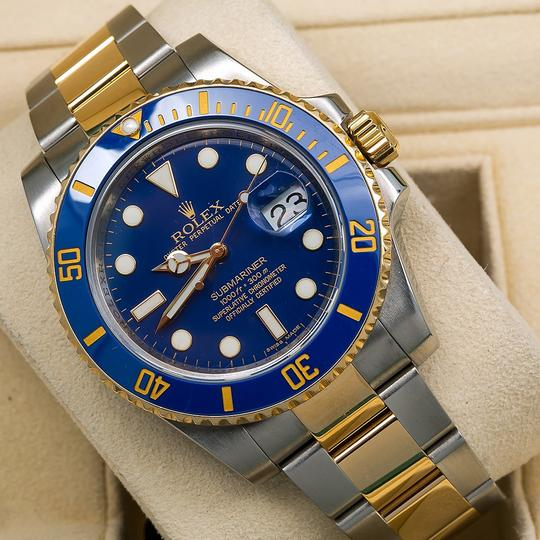 Rolex Rolex Submariner Date 116613LB 40MM Blue Dial With Two Tone Bracelet Image 1