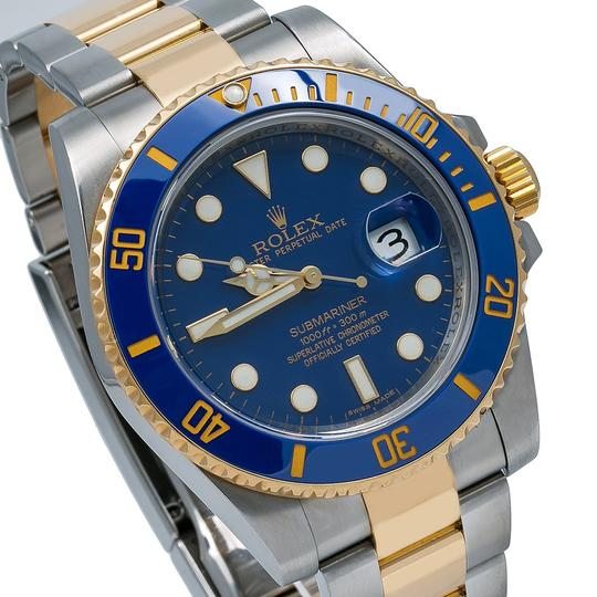 Rolex Rolex Submariner Date 116613LB 40MM Blue Dial With Two Tone Bracelet Image 2