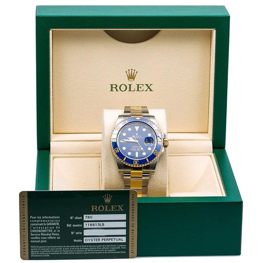 Rolex Rolex Submariner Date 116613LB 40MM Blue Dial With Two Tone Bracelet Image 5