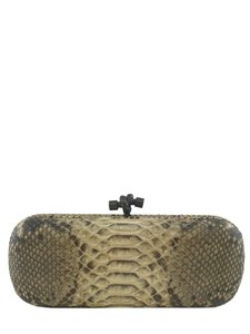 Bottega Veneta Beige Clutch