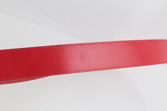 Louis Vuitton Louis Vuitton Red Epi Ceinture 85 Image 8