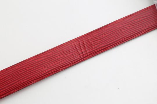 Louis Vuitton Louis Vuitton Red Epi Ceinture 85 Image 9
