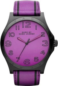 Marc by Marc Jacobs Marc Jacobs Female Henry Watch MBM1232 Purple
