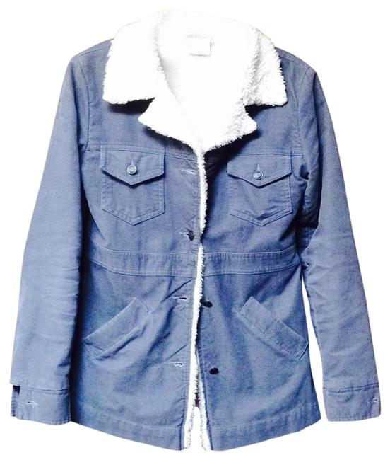 Item - Blue Light Weight Coat Size 0 (XS)